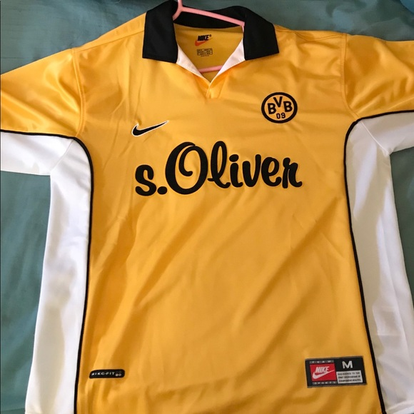 30d2335a83f Retro Authentic Nike Borussia Dortmund Kit